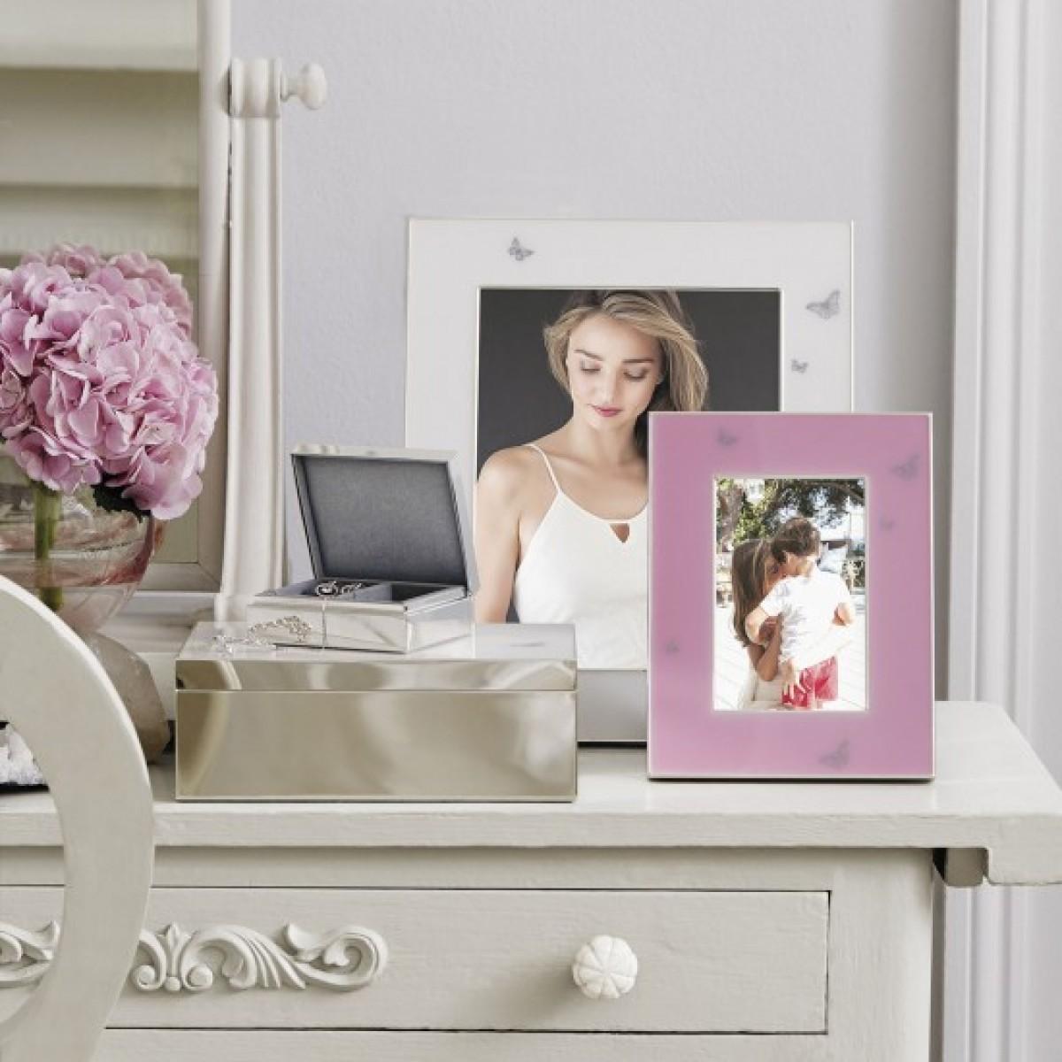 Royal Albert Miranda Kerr 8x10 White Picture Frame